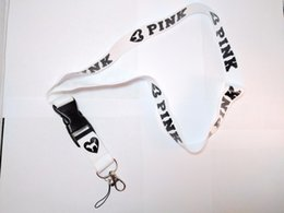 Wholesale Dog Charms Mix - Love Pink Mix Colors Lanyards with Dogs - Pick Any Color - Free Shipping