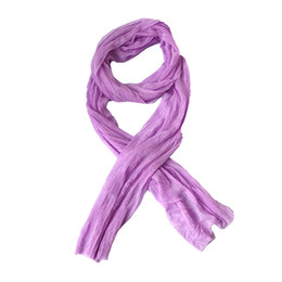 Wholesale Wholesale Apparel For Women - Wholesale-2016 New Wild Fold Women Scarves Soft Silk Blend Scarf Wrap Women Pretty Apparel Accessories Scarves 14 Colors for Choose