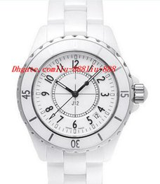 Мужские часы 38мм онлайн-Роскошные часы новые мужские H0970 белая керамика 38мм автом. абсолютно новый Сапфир прохладный мужские часы