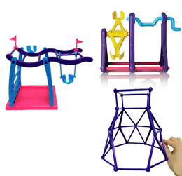 Wholesale Baby Play Gym Toys - Wholesale Monkey Jungle Gym Play set Interactive Baby Monkey Climbing Stand ,3 style,1pcs Free shipping