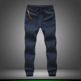 Wholesale beams plus - Wholesale-Plus Size 5XL 2016 Mens Joggers Pants Casual Fashion Slim Jogger Cotton Sweatpants Men Beam Feet Harem Pants Sarouel Homme