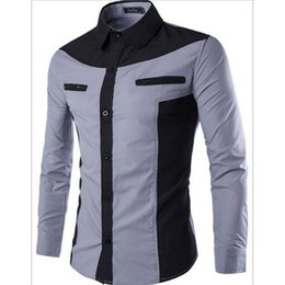 Wholesale Men Dress Suits Products - In 2017 the new man products sell like hot cakes fashion leisure cultivate one's morality shirt business suit dress shirt