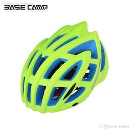 Wholesale Helmet Bike Giant - Wholesale-2016 BASECAMP Unisex MTB Bike Cycling Helmet Giant Bicycle Helmet Road Sports Cap Hat with Removable Brim BC-013