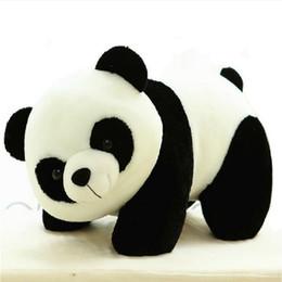 2018 qualité vidéo 2017 Nouvelle conception de haute qualité Animal Poupée Panda en peluche jouets 20 cm Belle peluche pour bébé cadeau d'anniversaire de l'enfant promotion qualité vidéo