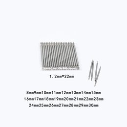 Wholesale Lugged Steel - Wholesale- Watch strap Watchband accessories Lugs 8 9 10 11 12 13 14 15 16 17 18 19 20 21 22 23 24 25 26 27 28 29 30mm Steel table tool