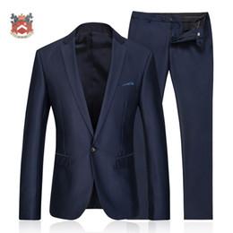 Wholesale Herringbone Wool Suit Jacket - Wholesale- 2015 suits for men 3 piece (Jacket+Pants) Wool Blue Herringbone Retro gentleman style custom made Men's suits tailor suit Blazer