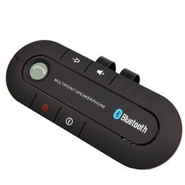 Мобильное соединение онлайн-2016 Super Speakerphone Беспроводной Bluetooth Handsfree Автомобильный комплект MP3-плеер для мобильного телефона Dual Phone Connect