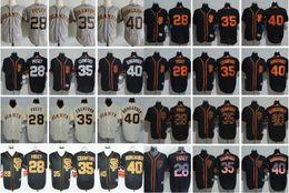 Wholesale Cheap Usa Flags - 2017 Spring Training MLB baseball jersey San Francisco Giants #28 Posey 35 Crawford 40 Bumgarner USA Flag Fashion Cool Base Flexbase cheap