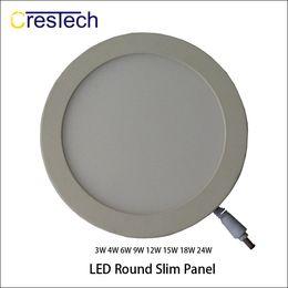 2019 farbe wechselbares glas WC LED Deckenleuchte Silm Flächenleuchte 3W 6W 9W 12W Einbauleuchte für Gewerbe LED