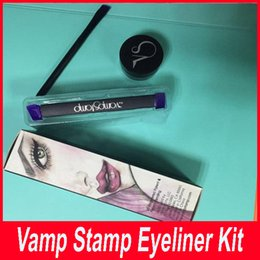 Wholesale Inking Stamps Wholesale - New best seller Fashion Hot Selling Vamp stamp Includes ink and brush seals beauty makeup tools