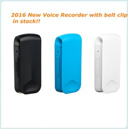 Wholesale voice playback - Wholesale- New 4GB high-quality pocket clip recorder digital Voice recorder digital U disk recordin support MP3 and playback WR-16