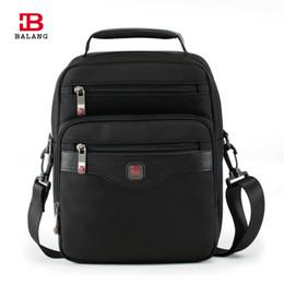 Wholesale Ipad Crossbody Bag Men - Wholesale- BALANG Brand High Quality Business Oxford Waterproof Nylon Messenger Bag Man Casual Ipad Shoulder Bags Women Crossbody Pack