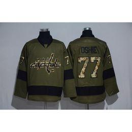 Wholesale Cheapest Camo - Capital #77 Oshie Camo Hockey Jerseys Cheapest Hockey Wears Men Camo Capital Jerseys 2017 Brand Winter Ice Jerseys Hot Sale