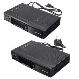 Телевизионное вещание онлайн-Бесплатная доставка ЕС / Великобритания Full HD 1080P T2 + S2 видео вещания спутниковый ресивер Box TV HDTV