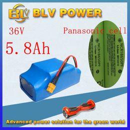 paquet de batterie au lithium 36v 5800mah pour 10inch 8inch 6.5inch électrique Skateboard Smart Self Balancing Scooters ? partir de fabricateur