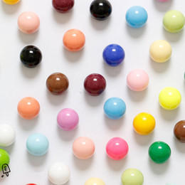 Wholesale Magnetic For Fridge - Lot 20PCS Magnetic Stickers Magnet Round Ball Pin Button Multicolor For Home Office Whiteboard Refrigerator Fridge Kitchen Boards Decoration