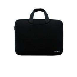 "Wholesale Canvas Tablet Bag - Soft Sleeve Bag Case Briefcase Handlebag Pouch for MacBook Pro Retina 15-inch 15.6"" Ultrabook Laptop Notebook Portable C2399B"