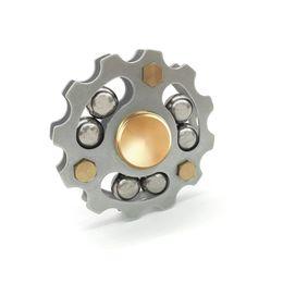 Wholesale Steel Bear - Premium Hot Wheel Metal Fidget Spinner Ceremic Bearing 5min Spinning CE RoHs EN71 Brass SUS Machined 6 Steel-Balls EDS Metal Spinners