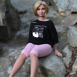 Wholesale Anus Female Sex Dolls - Big Belly Pregnant Sex doll with Vagina Anus Oral Sex Love Doll Male Masturbators Realistic Vagina Pussy Masturbation Sex Toy For Men