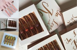 Wholesale Now Natural - Buy it now! kylie lip kit kylie Koko Kollection Set Kylie Cosmetics KKW NUDE matte lipstick & in love with kollection gloss kit