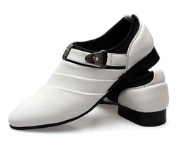 Wholesale Shoes For Bridegroom - Cool sexy charming Groom men's wedding leather shoes Prom shoes for bridegroom shoes