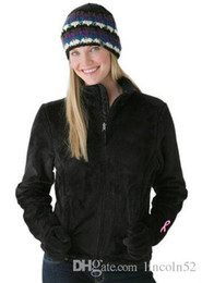 Wholesale Womens New Xxl Coats - AAA New Womens Fleece Osito Jackets Fashion Windproof Warm SoftShell Winter Ski Down Coats Outdoor Casual Sports Brand Ladies Coats S-XXL