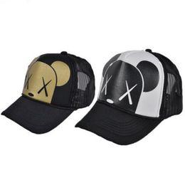 Wholesale Trucker Mesh Snapbacks - Mesh Trucker Baseball Caps New Fashion Casual Summer Snapbacks Fitted Caps for Women Men Girl Boy Hats