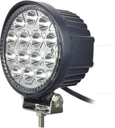 Wholesale Trailer For Atv - 4.5inch 42W LED Work Light 12V~30V DC LED Driving Offroad Light For Boat Truck Trailer SUV ATV LED Fog Light Waterproof