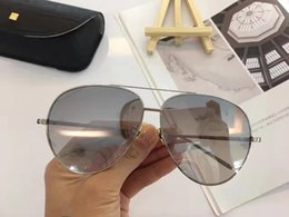 Wholesale Brown Linda - LF631 Linda Farrow Luxury Fashiong Sunglasses With Coating Mirror Lens UV Protection Women Brand Designer Vintage Oval Frame Top Quality