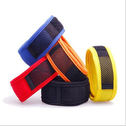 Wholesale Mosquito Insect Repellent - Mosquito Insect Repellent Band Bracelets Anti Mosquito Pure Natural Baby Wristband Hand Ring Yellow Color can Choose
