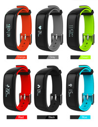 Wholesale Ip67 Sports - Fuster 2017 Newest Blood Pressure and Heart Rate Monitor Sport Fitness Smart Bracelet IP67 Waterproof Bluetooth Smart Band