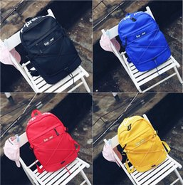 Wholesale Bag Children Backpacks - 2017 Fashion Supreme Backpack School Bag Fashion Outdoor Duffle Bags 15ss 38th Supremes Children Backpack School Bag Travel Bag