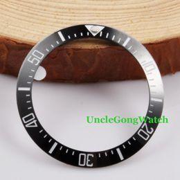 Wholesale Wholesale Clock Inserts - Wholesale- Watch Parts, Corgeut 40mm Black Ceramical Bezel Fit for 44mm SEA Automatic Watches , Timepiece Insert for DIY Clocks BZ40SEABK
