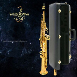 Wholesale Saxophone Free Shipping - wholesale 2017 high quality 901 B soprano saxophone yanagisawa one sax straight free shipping