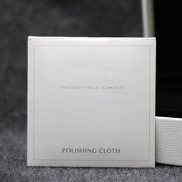 Wholesale Clean Silver Polishing Cloth - 925 Sterling Silver Polishing Cloth Fashion Women Jewelry Cleaning Polish European Style For Bracelet Necklace 10X10CM