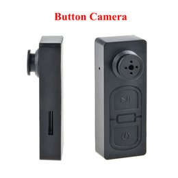 Wholesale Mini Usb Button Camera - Super Mini Audio Video PC DVR Voice Recorder 480P Shirt Button Spy Cam USB Pinhole Hidden Camera