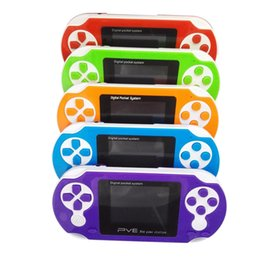 Wholesale Digital Game - 2.5 Inch 8 Bit FC PVE Portable Handheld Game Player Digital Pocket System TV Out Video Games Console Kid Gifts