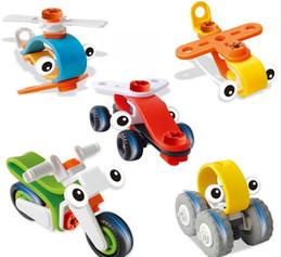 5pcs / lot DIY Outil de circulation Démontage Assemblage Classique Blocs de Construction Jouet Début Éducatifs Puzzle Jouets Pour Enfants Enfants ? partir de fabricateur