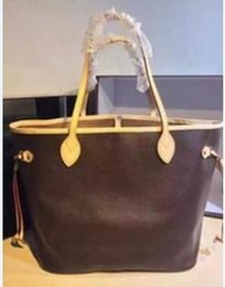 Wholesale Fashion Designer Shops - Hot Fashion High quality designer genuine leather shopping bags women tote bag Shoulder Bags