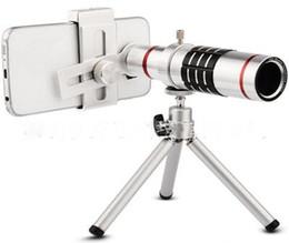 Lente de telescopio con zoom de 18x online-Universal 18x teléfono cámara zoom telescopio lente moblie teléfono teleobjetivo tubo para universal huawei iphone samsung xiaomi vivo