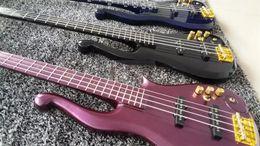 Wholesale White Guitar Black Hardware - RARE Diamond Series Prince Cloud 5 strings 4 strings Electric Bass Guitar Yellow Peach White Black Blue Purple Multi Color Gold Hardware