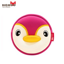 Wholesale penguin factory - Kids Shoulder Bag High Quality Waterproof Animals 3D Penguin Small Cartoon Kids Baby Messenger Bags NOHOO Factory