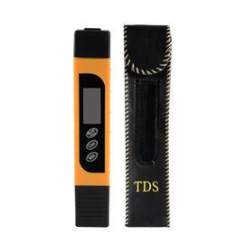 Medición de metros online-3in1 Digital TDS + EC + Medidor de temperatura Tester con 0-9990 ppm Rango de medición, 1 ppm Resolución con luz de fondo BI714-SZ