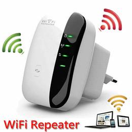 Wholesale Wps Wireless Extender - Wireless Network Wifi Repeater 802.11n b g Wi Fi Signal Amplifier Routers 300Mbps Range Expander Extender Enhanced AP Wps