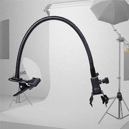 Wholesale Camera Clamps - New Reflector Camera Photo Studio Accessories Light Stand Background Holder Clamp Clip Flex Arm Reflector