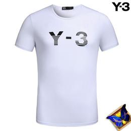 Wholesale T Shirt Couples Black - fashion Y-3 Couple Lovers T-shirt MEN Women Camisetas Mujer Tees Women Men Short Sleeve O-neck Summer Y-3 Casual T Shirts