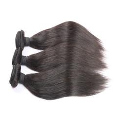 Wholesale Cheap Good Mongolian Hair - Good Cheap 8A 3 Bundles Peruvian Straight Hair Weave 100% Human Hair Weave Bundles Factory Price Double Weft Hair