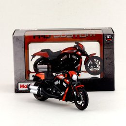 Wholesale Diecast Motorcycle Toy - Free Shipping Maisto 1:18 Motorcycle Harley-Davidson 2012 VRSCDX Night Rod Special Diecast Toy Collection Educational Gift Child