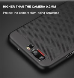 Wholesale water resistant case huawei - Heat dissipation phone cases for huawei p8 lite 2017 p9 case shockproof hard matte Full Cover for p10 p10 plus phone shell