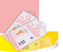 100 pz all'ingrosso Nuovo imballaggio al dettaglio scatola / scatola di carta / scatola di imballaggio per galaxy s5 s4 iphone 7 6 5s 4s Pellicola proteggi schermo in vetro temperato da scatola di imballaggio per il iphone 4s fornitori